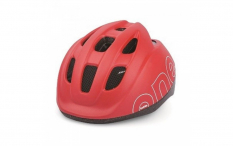 Fietshelm Bobike One - Maat XS (46-53cm) - Strawberry Red