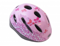Abus - Fietshelm Abus Smooty Zoom Pink Butterly Medium (50-55cm)
