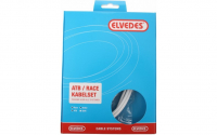 Elvedes Rem kabelkit ATB \/ race compleet - wit