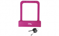 Beugelslot M-Wave 175*205 mm Pink siliconen