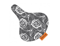 Bikecap Zadeldek Sitting on Grey Roses