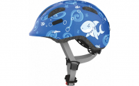 Fietshelm Abus Smiley 2.0 Blue Sharky - small 45-50cm