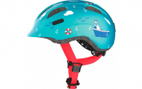 Fietshelm Abus Smiley 2.0 Turquoise Sailer - small 45-50m