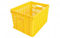 Fietskrat Edge Urban Crate Medium 26 Liter Geel