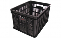 Fietskrat Edge Urban Crate Medium 26 Liter Zwart