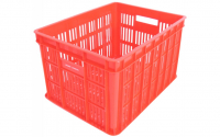 Fietskrat Edge Urban Crate Medium 26 Liter Rood