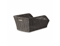 Fietsmand Basil Cento Rattan-Look Grey