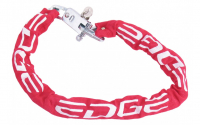 Kettingslot EDGE Red Chain diameter 7*120 cm Rood