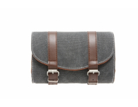 Zadeltas Mondi Canvas-Grey